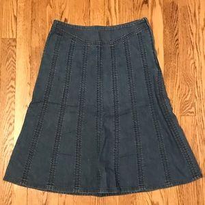 Pendleton Denim Skirt - Size 6 E14